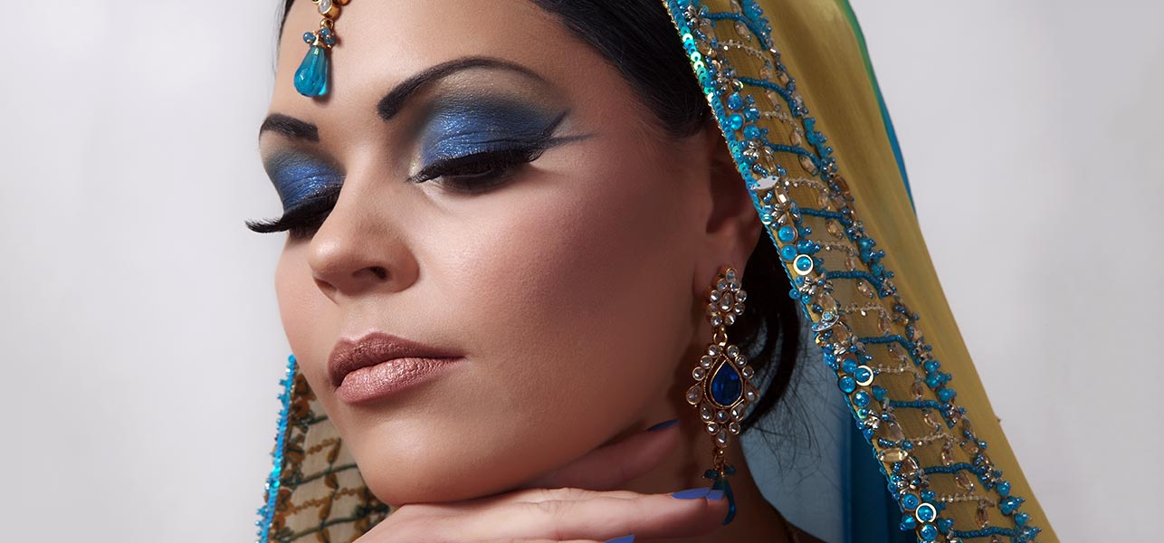 Arabic Bridal Eye Makeup Tutorial With Detailed Steps And Pictures